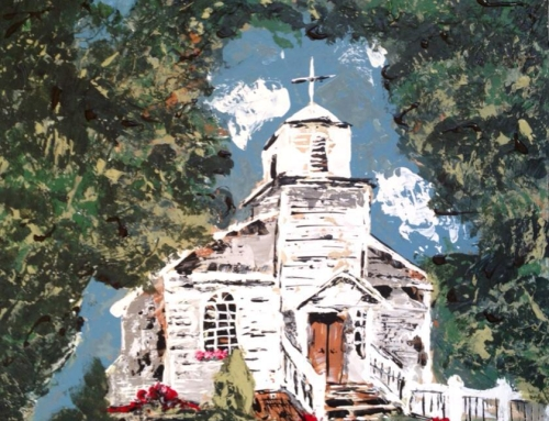Little Country Church on the Hill